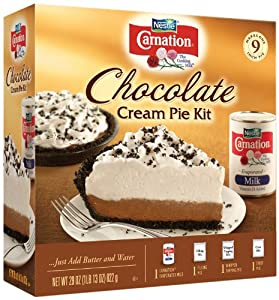 Carnation Chocolate Cream Pie Kit,29-Ounce (Pack of3)