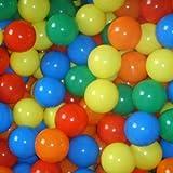 Infantastic - Piscina de bolas, 1000 bolas, 5 colores