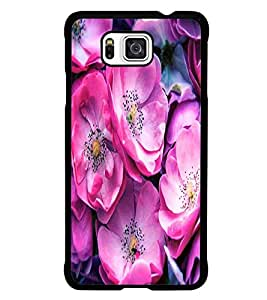 PrintDhaba Flowers D-2837 Back Case Cover for SAMSUNG GALAXY ALPHA (Multi-Coloured)