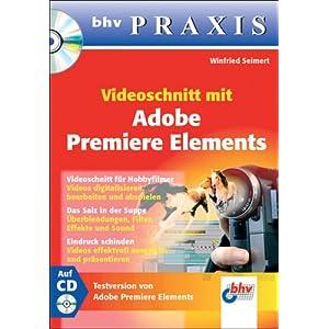 eBook Cover für  Videoschnitt mit Adobe Premiere Elements
