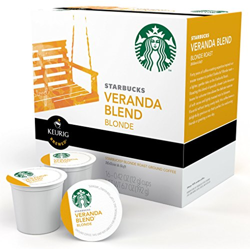 Starbucks Veranda Blend - 16 ct (K Cups Starbucks Blonde compare prices)
