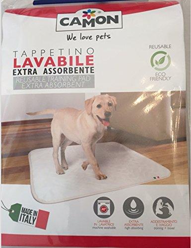tappetino lavabile exta assorbente per cani misura70x60cm