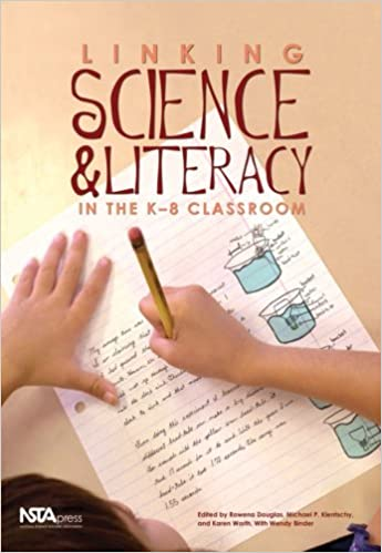 Book cover: linking science and literacy in the k-8 classroom