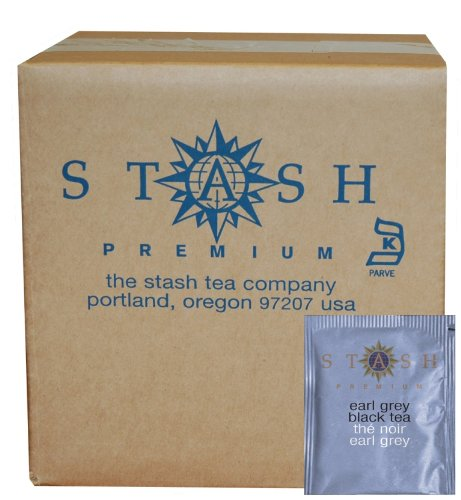 Stash Tea Earl Grey Black Tea, 100 Count Box of Tea Bags in Foil (Coffee Black Tea compare prices)
