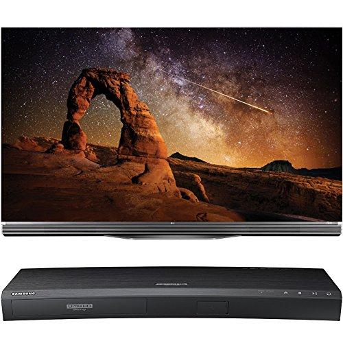 LG OLED55E6P 55-Inch Flat E6 OLED HDR 4K Smart TV with Samsung UBD-K8500 3D Wi-Fi 4K Ultra HD Blu-ray Disc Player
