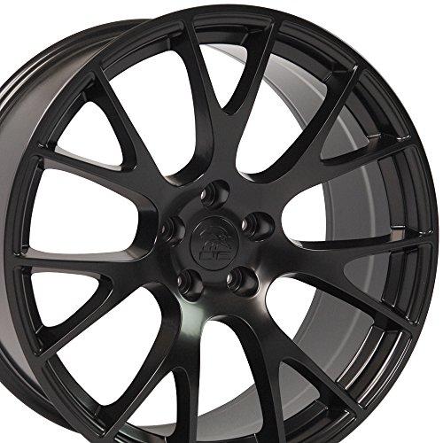 22-inch Fits Dodge - Ram Wheel Replica - Satin Black 22x10 SET (22 Inch Truck Rims compare prices)