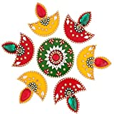 Ghasitaram Gifts Decorative Acrylic Rangoli R-801