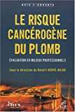 Le Risque cancrigne au plomb