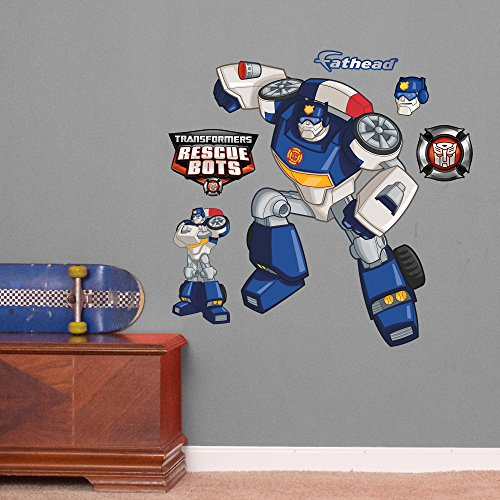 Fathead Transformers Chase Rescue Bots Vinyl Decals