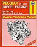 Peugeot 504 and 505 Diesel 1974-90 Owner's Workshop Manual (Service & repair manuals) Ian Coomber