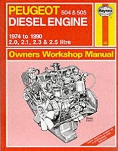peugeot 504 and 505 diesel 1974 90 owner 39 s workshop manual. Black Bedroom Furniture Sets. Home Design Ideas