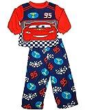 Disney Cars - Little Boys Long Sleeve Fleece Cars Pajamas