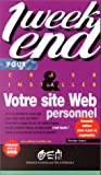img - for Votre site Web personnel en un week-end book / textbook / text book