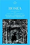 Hosea (Anchor Bible) (038551378X) by Andersen, Francis I.