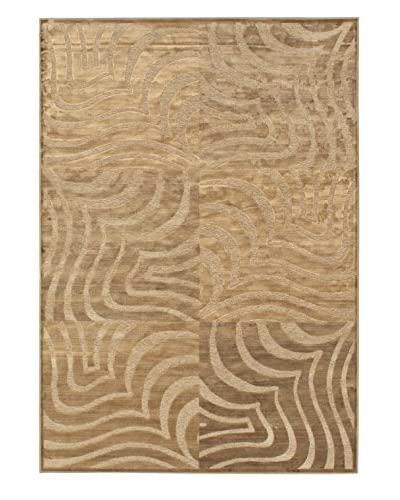 Passage Rug, Brown/Camel, 5' 3 x 7' 7