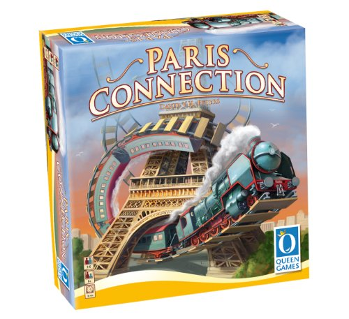 Queen Games - Paris Connection Gioco da tavolo [importato da UK]
