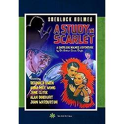 """Sherlock Holmes """"A Study in Scarlet"""""""