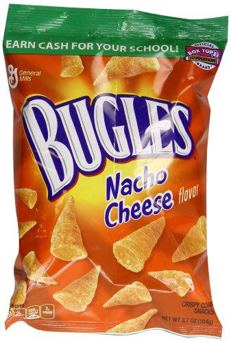 Bugles, Nacho Cheese, 3.7 Ounce (Pack of 12) (Nacho Cheese Popchips compare prices)