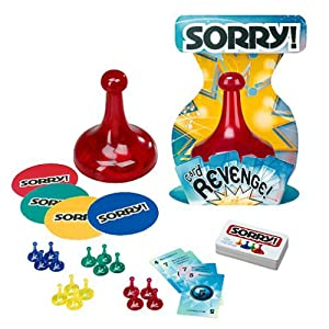 Sorry! Card Revenge Game