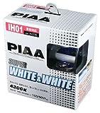 PIAA ( ピア ) ハロゲンバルブ 【スーパーホワイト&ホワイト 4300K】 IH01 12V60/55W 2個入り H-378
