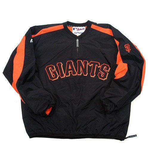 San Francisco Giants Authentic Elevation Gamer Jacket font color=#990000 B