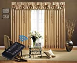 Electric Curtain, Motorized Drapery Track, Remote Control Curtain System (86 inch)