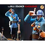 Blue Soldier Team Fortress 2 Exclusive Gaming Heads Statue