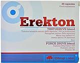 Olimp Erekton Pills - Erectile Dysfunction Potency Aid Libido Sex Enhancer Erection Tablets - 30 Capsules