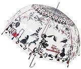 キャラクター 傘 ふしぎの国のアリス アリス 大人 ビニール傘 60cm 32408