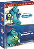 Monsters Inc. / Monsters University Collection [DVD]
