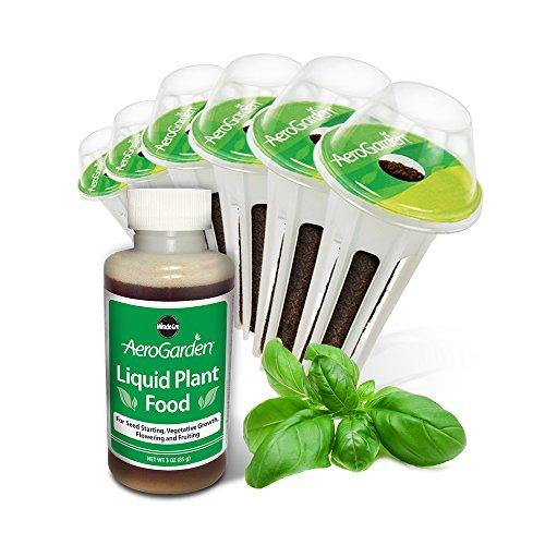 Miracle-Gro AeroGarden Pesto Basil Seed Pod Kit (6-Pods)