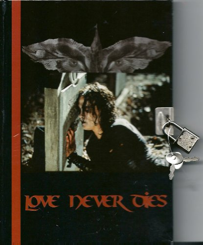 "The Crow Journal with Lock ""Love Never Dies"""