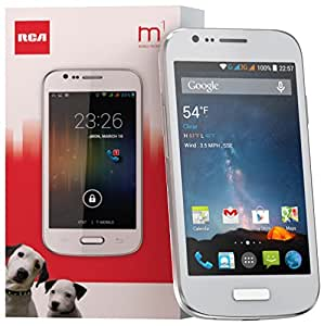 RCA M1 4.0 Unlocked Cell Phone, Dual