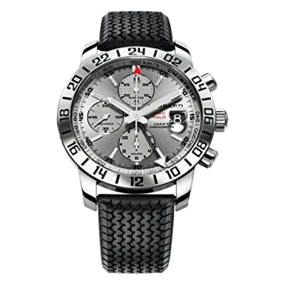 Chopard Men's 168992-3022 Mille Miglia GMT 2009 Chronograph Grey Dial Watch