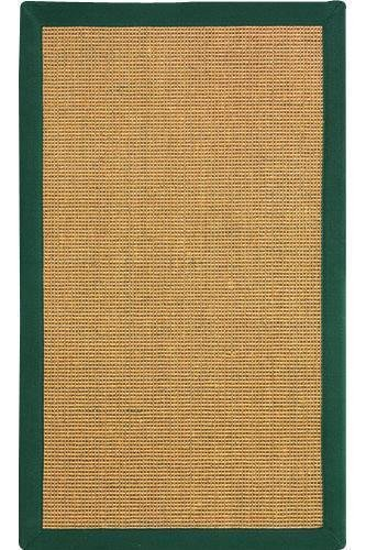 Rio Sisal Area Rug, 6' ROUND, HONEY HUNTER