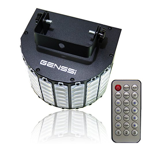 GENSSI DJ LED RGB DMX Lighting Effect Wireless Remote Control