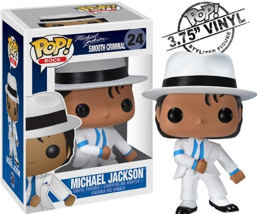 Michael Jackson(マイケルジャクソン) POP ROCK MJ Smooth Criminal VINYL ミニフィギュア