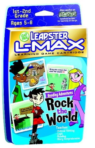 LeapFrog® Leapster L-Max® Game: Reading Adventure Rock the World - 1