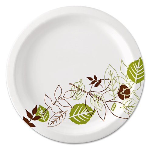 Dixie - Pathways Mediumweight Paper Plates, 8 1/2, WiseSize, Green/Burgundy, 125/Pack UX9WSPK (DMi PK truphena moraa choti competitive university entry pathways