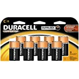 Duracell Coppertop C Batteries 8 Count