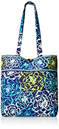 Vera Bradley Tote 2 Shoulder Bag, Katalina Blues, One Size