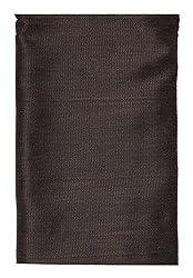 Shree Balaji Textiles Men's Poly Cotton Trousers Fabric (Brown)