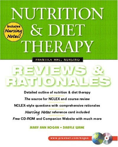 Nutrition and Diet Therapy: Review & Rationales