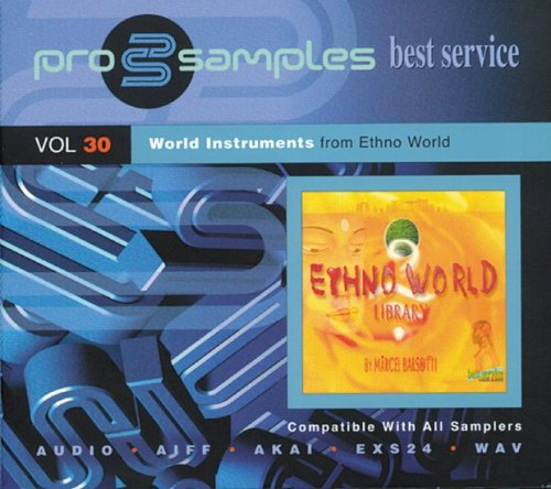 EastWest ProSamples Volume 30 World Instruments CD ROM