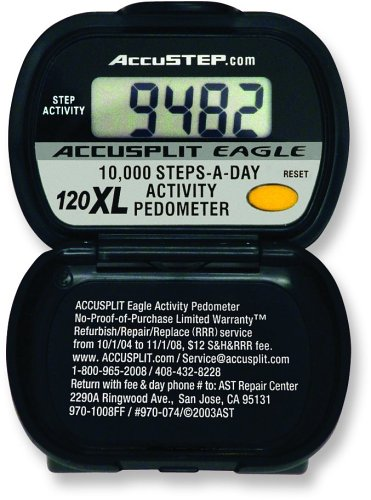 Cheap ACCUSPLIT AE120XL Pedometer, Steps Only (AE120XL)