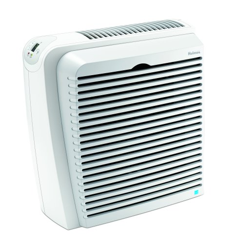 Holmes True HEPA Air Cleaner and Odor Eliminator with Digital Display for Large Spaces, HAP756 (Air Purifier For Tobacco Smoke compare prices)