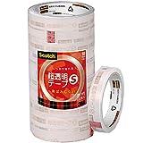3M スコッチ 超透明テープS 18mm×35m 芯76mm 10巻 工業用包装 BK-18N