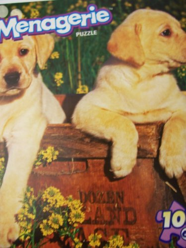 Menagerie 100 Piece Animal Puzzle ~ Puppy Power