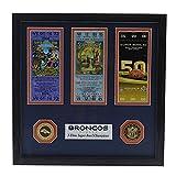 Denver Broncos Super Bowl 50 Champions Signature Ticket - Licensed NFL Football Gift