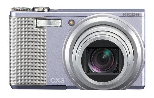 Ricoh CX3 Digital Camera (Violet)
